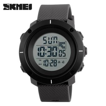 SKMEI merek Watch 1213 mewah pria olahraga Watches Fashion kasual pria LED Digital Watch kolam militer