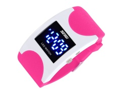 SKMEI merek Watch Jepang dan Korea Selatan dipersonalisasi LED busur arloji tahan air laki-laki dan perempuan jam tangan kreatif jelly siswa pasang pria menonton 0951 - intl