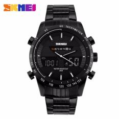 SKMEI Multifunctional Fashion Watch Water Resistant - AD1131 (Black)