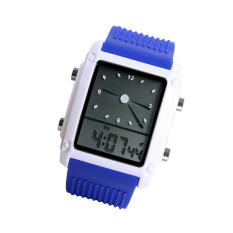 SKMEI New Fashion 0814 Street Fashion Style Trend Originality Design Waterproof Electronic Watch (Dark Blue)