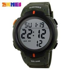 SKMEI Pioneer Sport Watch Water Resistant 50m - DG1068 - Army Green
