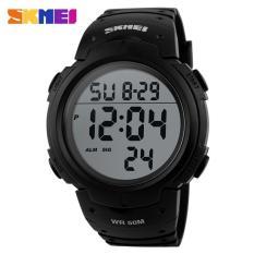 SKMEI Pioneer Sport Watch Water Resistant 50m - DG1068 (Black)