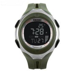 SKMEI Pioneer Sport Watch Water Resistant 50m - DG1080 - Hijau-Hitam