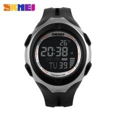 SKMEI Pioneer Sport Watch Water Resistant 50m - DG1080T - Black / Black