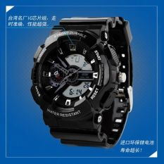 SKMEI S-Shock Sport LED Watch Water Resistant 30m - AD0929 - Hitam