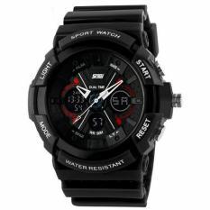 SKMEI S-Shock Sport Watch Water Resistant 50m - AD0966 Hitam (Black)