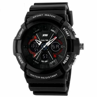 SKMEI S-Shock Sport Watch Water Resistant 50m - AD0966 Hitam (Black)