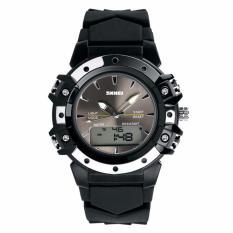 SKMEI S-Shock Sport Watch Water Resistant 50m Jam Tangan Sport Pria Keren AD0821 - Hitam