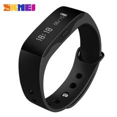 SKMEI Top Brand Sport Smart Bluetooth 4.0 Smartwatch Fashion Fitness Tracker Health Wristband Sleep Monitor Smart Unisex Table (Black)