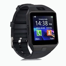 SMARTWATCH U9 DZ09 Jam Tangan SIM Card Bluetooth Limited Edition - Full Black