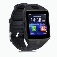 SMARTWATCH U9 DZ09 Jam Tangan SIM Card Bluetooth Limited Edition - Full Black