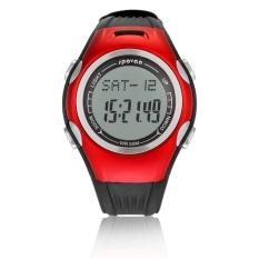 Spovan Jam Tangan Multifungsi Pedometer Sporty - Merah