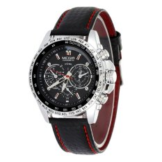 Stainless Steel Material 10m Water Resistant Leather Strap Luxury Brand Men Watches Real Megir Quartz Watch