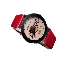 Steeple Small Dial Watch Fashion Watch Lovers Love Letter Birthday Gift Student Watch - Intl