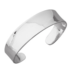 Sterling Bracelet Band Women Jewelry Treasure Silver (Intl)