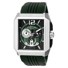 Stuhrling Original Men's 284A.3316D71 Sportsman Metropolis Chronograph Swiss Quartz Date Green Watch (Intl)