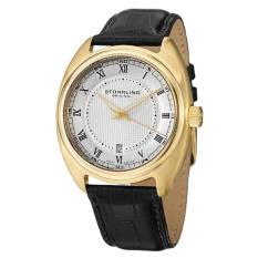 Stuhrling Original Men's 728.03 Symphony Aristocrat Twenty Swiss Quartz Date Gold Tone Watch (Intl)