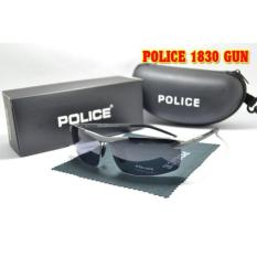 Sunglasses For Men_Police Type Gun 1830 - Abu-abu