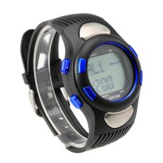Sunwonder Fitness 3D Sport Exercise Watch Pulse Heart Rate Monitor and Pedometer Calories Counter (Intl)