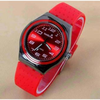 Jual Swatch Jam Tangan Pria Rubber Strap Karet SW5468MO Arlozi Source · Swatch Swiss SS6709 Jam
