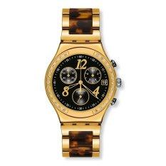 SWatch Women's Irony YCG405GC Gold Stainless-Steel Swiss Quartz Watch (Intl)
