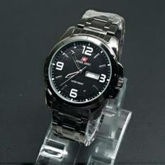 Swiss Army - Jam Tangan Swiss Army - Jam Tangan Pria Swiss Army Day Date Aktif Elegan Murah Terbaru Formal Kasual