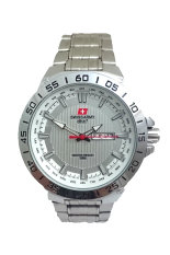 Swiss Army Men's 4054 - Jam Tangan Pria - Silver - Stainless Steel