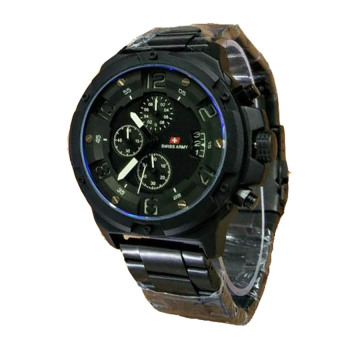 Swiss Army Sa2389 Th Jam Tangan Pria Stainless Steel Hitam Rose Gold Source .