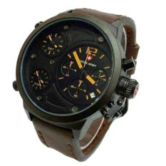 Swiss Army Triple Time - Jam Tangan Pria - Coklat - SA4170 Triple Time