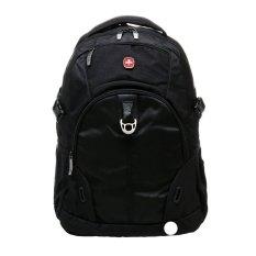 Swiss Gear SA8017 Laptop Backpack - Hitam