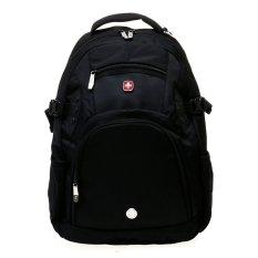 Swiss Gear SA8019 Laptop Backpack - Hitam