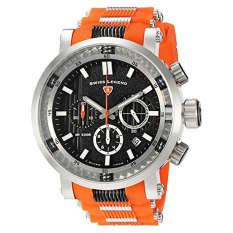 Swiss Legend Men's 'Dragonet' Swiss Quartz Stainless Steel Casual Watch (Model: 13838SM-01-OAS) (Intl)