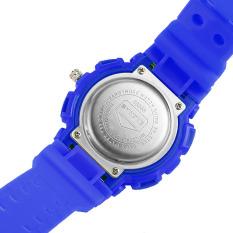 SYNOKE 5ATM Water-proof Digital & Quartz Men Women Sports Watch Dual Movements Backlight Multi-function Unisex Children Watch with Chronograph Alarm Week Date (Intl)