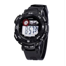 Synoke 89068 Sport Wristwatch Watch Men Casual Outdoor Watch Black