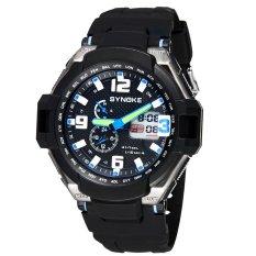 SYNOKE Fashion Multifunctional Digital Analog Dual Display Watch Water Resistant Outdoor Wrist Watch (Intl)