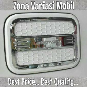 Tank cover / Tutup Bensin Grand New Avanza JSL Luxury White Icon Putih