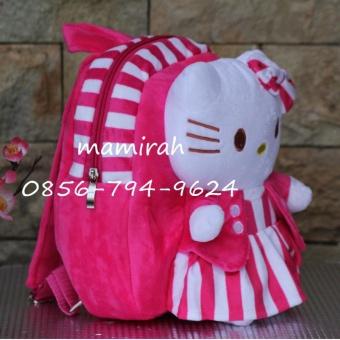 Tas Sekolah Anak Karakter Boneka Hello Kitty - Boneka Timbul
