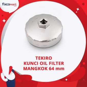 Tekiro Kunci Oil Filter Mangkok 64 mm / Oil Filter Bowl (Avanza)