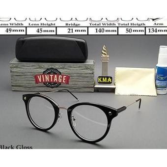 Terbaru Frame Kacamata Minus Korea Kacamata Korea Frame Bulat Vintage -  Kdstr bfb9b3879e
