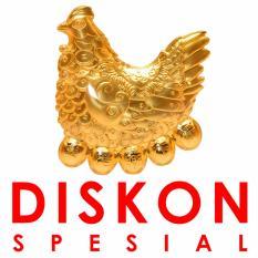 Tiaria 24K Special Rooster Eggs Gold Bar Logam Mulia Emas Murni 24K 0.2 gram l Diskon Spesial