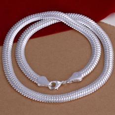 Tiaria Necklace LKNSPCN209 Aksesoris Kalung Lapis Silver