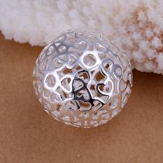 Tiaria P009 Nickel Lead Free Pendant For Gift Aksesoris Liontin Lapis Emas 18K (Silver) (Silver)