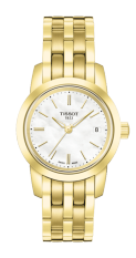 TISSOT Classic Dream Lady Jam Tangan Wanita T0332103311100 - Stainless Steel - Gold