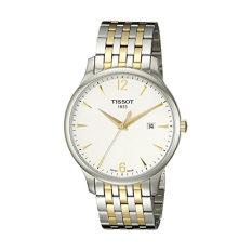 Tissot Men's T0636102203700 Tradition Analog Display Swiss Quartz Two Tone Watch - Intl