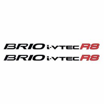 ... Metal Sticker Stiker Crome ChromSilver Honda Brio Jazz . Source · HRV- Mobilio- BRV- Jazz. Source · Tokomonster Sticker BRIO .