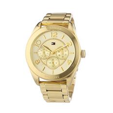 Tommy Hilfiger Watch Gold Stainless-Steel Case Stainless-Steel Bracelet Ladies NWT + Warranty 1781214