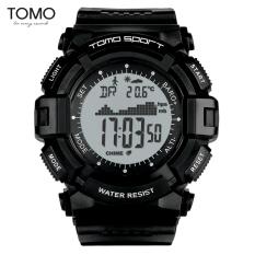 TOMO laki-laki cerdas multifungsi jam elektronik tahan air jam tangan olahraga