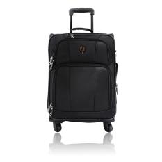 Traveler's Choice San Sebastien Koper Soft Case [Small/21 Inch] Black - Gratis