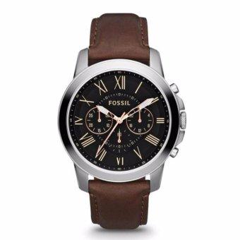 Triple 8 Collection - Fossil Grant FS4813 - Jam tangan Pria