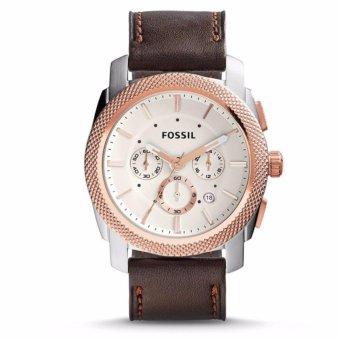Triple 8 Collection - Fossil Machine FS5040 - Jam tangan Pria